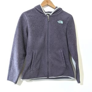 The North Face Full Zip Sherpa Fleece Hoodie Small